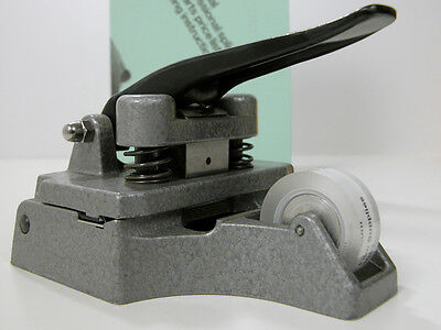 Professional CATOZZO 16MM FILM SPLICER W/Splicing Tape & Instructions Works Well