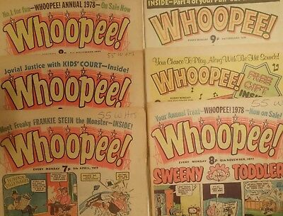 6 Great Whoopee Comics 1977-79!