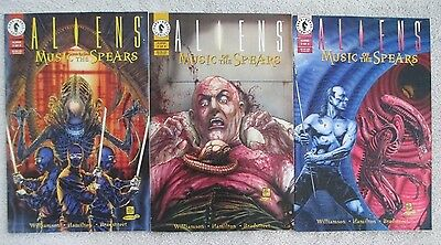ALIENS : MUSIC OF THE SPEARS - 3 Issue Lot - #1, #2, and #3