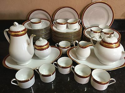 Tiffany And Co Limoges 45 Pc Dish Set-rare pattern