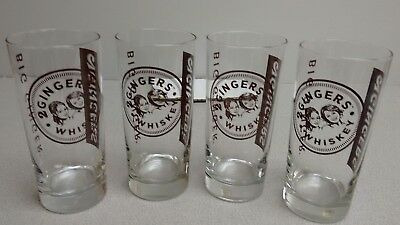 4 -2 GINGERS Drinking Glasses