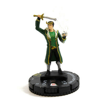 Loki, Agent of Asgard - 050 - Super Rare Marvel HeroClix M/NM with Card The Migh