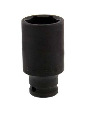 "33 Mm Deep Impact Socket 1/2"" Drive 6 Points Axle Nut Socket Remover"