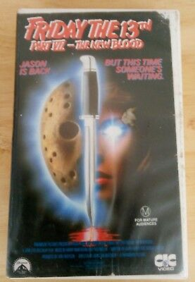 Friday The 13Th Part Vii - The New Blood Vhs Horror (A Nightmare On Elm Street)
