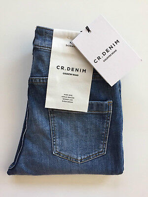 [ COUNTRY ROAD ] high rise skinny ripped denim jean[ size: 6,12 ] $119 BRAND NEW