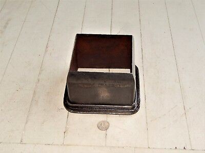 "LARGE 4-5/8"" x 4-5/8"" SQUARE LEATHER OR WADD PUNCH CUTTER"