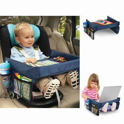 Car Child Snack Play Tray for Car Seat Plane and Buggy Toddler Portable Travel