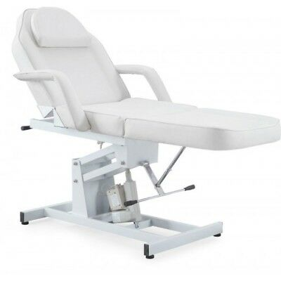 1 Motor White Counselling Couch Table Bed Occupational Hypnotherapy Chair Lounge