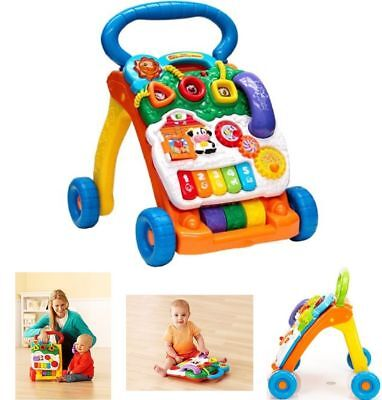 Baby Activity Walker Developmental Learning Fun Kids Toy Toddler Play Center New