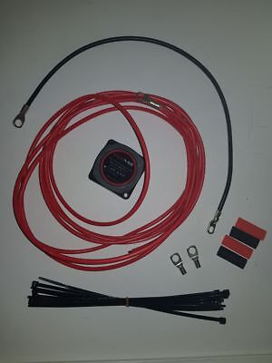 Basic Dual Battery Wiring Kit With Kickass Vsr And 6Mm Cable