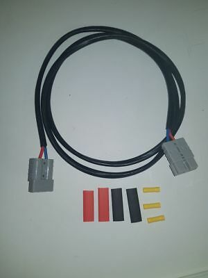 6Mm 1.5M Extension Lead With Anderson Plugs For Dual Battery System