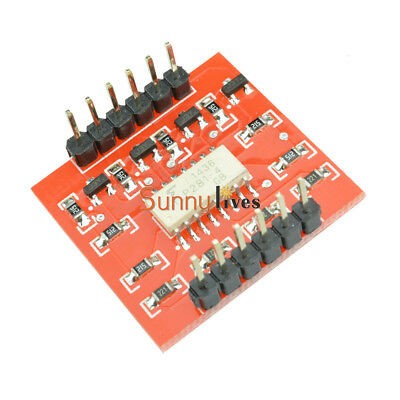 TLP281 4-Channel Opto-isolator IC Arduino High and Low level Expansion Board