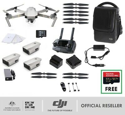 PRE-ORDER NEW DJI Mavic Pro PLATINUM Fly More Combo | Genuine AU Stock | ETA OCT
