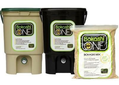 NEW Bokashi Composting Kit - Black or Tan Gardening