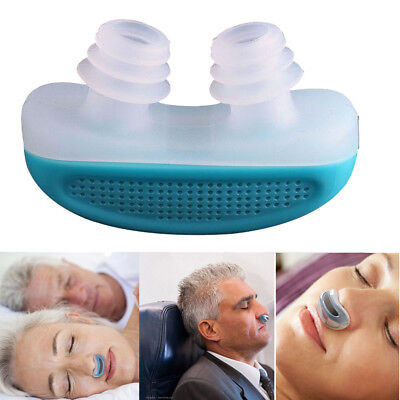 2 in 1 Anti Snoring Device Snore Apnea & Breathing System Clean Air Purifier