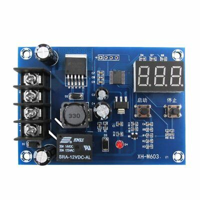 12/24V Disconnect Module LVD Digital Display On Off Relay Charge Controller