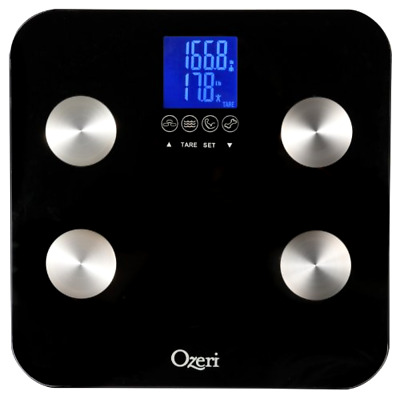 Bathroom Scale Total Body with Auto Recognition and Infant Tare Technology 200kg