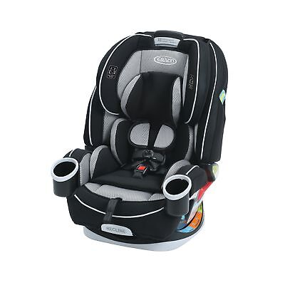 Graco Black 4ever All-in-One Convertible Car Seat Matrix InRight LATCH system