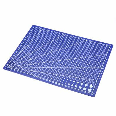 A4 Grid Lines Cutting Mat Craft Scale Plate Card Fabric Leather Paper Board