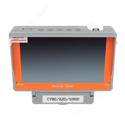 """Wristband 5"""" LCD HD-AHD CCTV Camera Test Display Monitor Tester Audio DC 12V Out"""