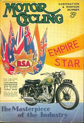 MotorCycling 1937 Scottish Six Days Trial Report Coronation Special Edition