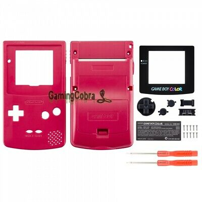 Full Housing Shell Case Cover Button Kits for Nintendo Game Boy Color GBC