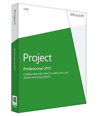 Microsoft Project Professional 2013 32_64bit - Quick Delivery - 24 Hour Support