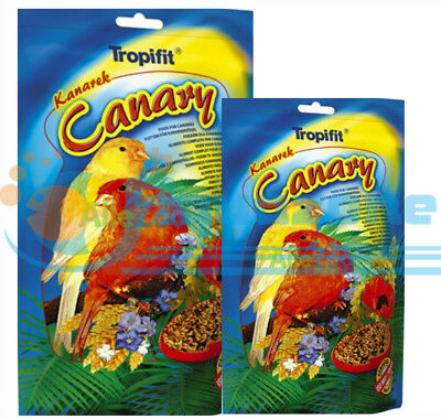 FOOD FOR CANARIES GRAINS AND GRASS SEEDS 700g 250G  SACHETS TROPICAL