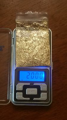 2 grams of real 24 karat 99.9 gold priced well below the value of two grams