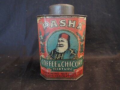 PASHA COFFEE & CHICORY 1lb AUSTRALIAN  Tin