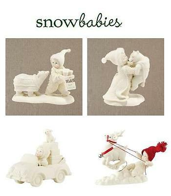 Snowbabies, Porcelain Snow Figurines, Collectibles, For Christmas & Occassions