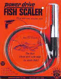Bear Paw GFS Power Drive Fish Scaler 13032