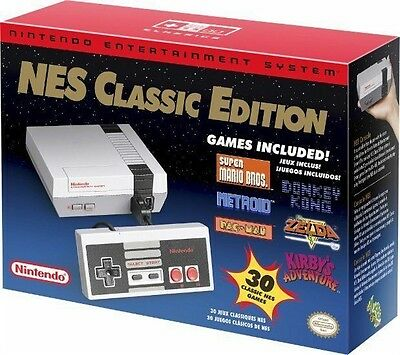 Brand New Nintendo Entertainment System: Nes Classic Edition Mini
