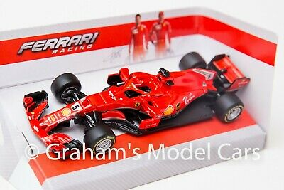 Sebastian Vettel F1 Ferrari SF16-H 1:43 Diecast Formula One Model Car by Burago