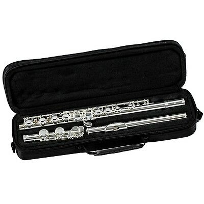 New Gemeinhardt 1SP Closed Hole Flute Outfit Silver-plated Head, Body, And Foot