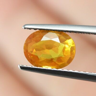 0.81Ct Oval Cut Mederia Quartz Citrine