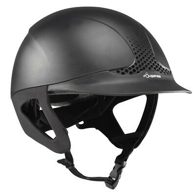 Safety Horse Riding Helmet Troxel Hat Comfort New Sport Fouganza Fit Black