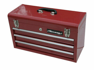 3 draw + top try tool box with lock