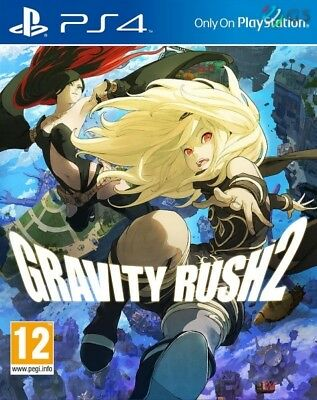 Gravity Rush 2 PS4 * NEW SEALED PAL *