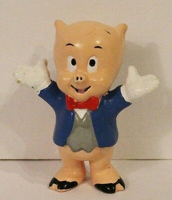 PORKY PIG Figure PVC Toy Warner Brothers Looney Tunes Cake Topper