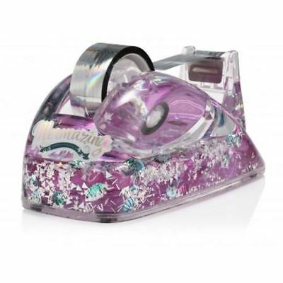 Magical Ocean Tape Dispenser mermaid sea shells glitter mermazing npw cute desk