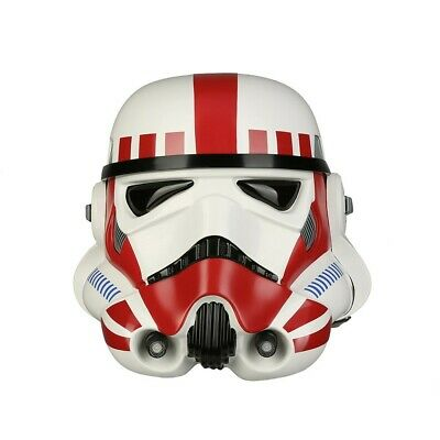 ANOVOS Star Wars EP IV A New Hope Imperial Shock Trooper TK Helmet red