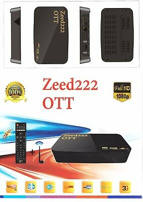 ISTAR KOREA ZEED OTT 222 With 1 Year ONLINE TV
