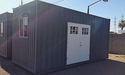 20Ft-Custom Shipping Container Hc- Bunk Room/ Home Office/cabin/studio