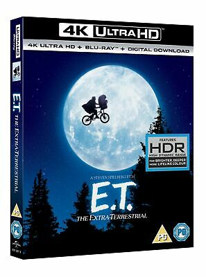 ET - The Extra Terrestrial (4K Ultra HD + Blu-ray + Digital Download) [UHD]