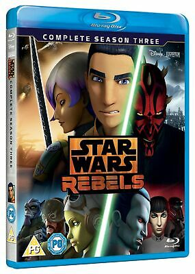 Star Wars Rebels: Complete Season 3 [Blu-ray]
