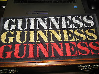 BEER BAR PUB TOWEL; GUINNESS; Colorful; Vintage England / GREAT BRITIAN