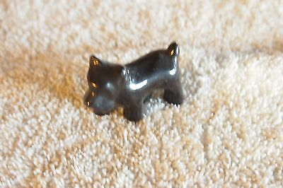 """Vintage Scottish Terriers – Black – Standing pose 1 ½"""" tall"""