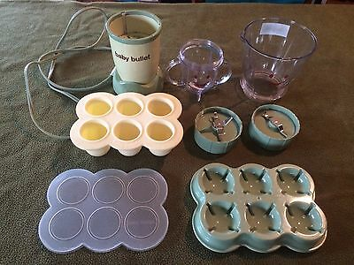 Magic Bullet Baby Blender Homemade Food Making System Replacement Parts