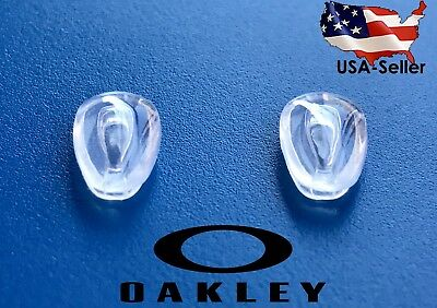 2 Pairs Oakley Replacement Nosepads Prizm Carbon Blade Deviation Keel C-wire USA